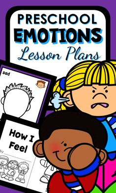 Preschool Emotions Lesson Plans and Feelings Activities #preschool #emotions #feelings #socialdevelopment