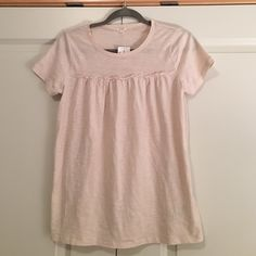 Tan J. Crew shirt Tan, flowy shirt from J. Crew. New with tags. Lightweight and perfect for summer. Thanks for looking! J. Crew Tops Tees - Short Sleeve