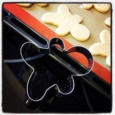 Photo recette Biscuits bonshommes de Noël en pain d'épices
