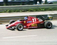 Patrick Tambay   GP België 1983 - Patrick Tambay (2nd place) -