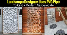 I've always marveled at the vision of some designers. They can take items and materials most of us would never consider using together and turn them into a thing of beauty. For example, a designer who made a gate using PVC pipes. The pipes are not stacked up to make a gate, they... #fal #spr #sum