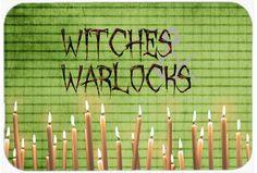 Witches and Warlocks Halloween Kitchen/Bath Mat