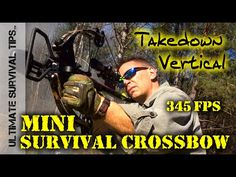 Mini Survival Crossbow - 345 FPS - Hickory Creek - Tactical / Survival / Hunting / Bug Out Bag  http://prepperhub.org/mini-survival-crossbow-345-fps-hickory-creek-tactical-survival-hunting-bug-out-bag/