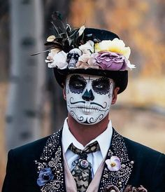 sugar skull makeup for men More