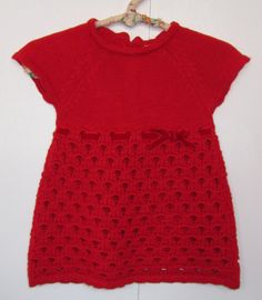 Gorgeous Mayoral Red Knit Dress is perfect for the holidays. Fully lined with beautiful knit detailing throughout the body of this dress. Imported. $48 via http://sophiblu.com