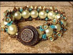 Happy Pearls Bracelet Tutorial - YouTube