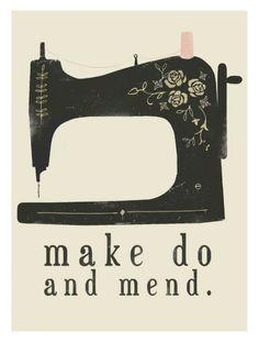 Make Do And Mend Craft Ideas