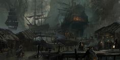 assassin's creed black flag concept art