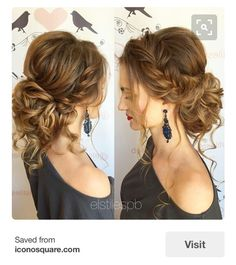 Lynn Jeffcoat's Wedding Hair