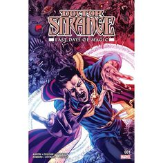 Doctor Strange: Last Days of Magic (2016) #1 Written by Various Jason Aaron Art by Leonardo Romero Cover by Mike Perkins The companion to the LAST DAYS OF MAGIC epic! The Empirikul led by The Imperator are destroying all magic and magic users in the Marvel Universe. Jason Aaron brings you Doctor Strange and Wong's secret history and the ultimate sacrifice that Wong makes! Gerry Duggan shows Brother Voodoo's stand against the evil magic-eaters. James Robinson introduces a new magic figure in…