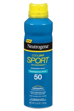 Neutrogena CoolDry Sport Sunscreen Spray Broad Spectrum SPF 50