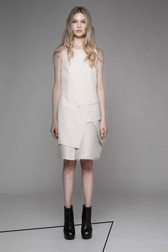 Taylor 'Incision' Collection, Summer 13/14   www.taylorboutique.co.nz Taylor - Transverse Dress