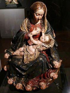 La Roldana, virgen de la leche 1689-1706