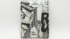 Sewn Comic Book Wallet Yu Yu Hakusho Design 9 by DuctTuff on Etsy