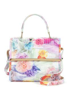 cd65396c94 Love this  Davena Floral Printed Cross Body Bag TED BAKER ENGLAND  dressmesweetiedarling Beautiful Handbags
