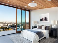 A modern, sophisticated Master Suite by Ian Stallings