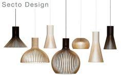 Абажуры из финской берёзы сделаны вручную высококвалифицированными мастерами Secto Design. #lighting #SectoDesign #cosmorelax