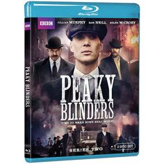 Peaky Blinders: Season 2 (Blu-ray) - Business is booming for Birmingham's Peaky Blinders gang, but it's not enough for dangerous leader Tommy Shelby (Cillian Murphy, The Dark Knight Rises). Shelby has his sights set on London and the racetracks in the South in the harrowing second season of the non-stop gangster drama.