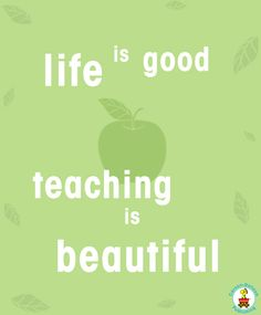 ...and our teachers are amazing!
