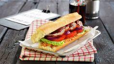 Cajun-sandwich - Kos - Oppskrifter - MatPrat
