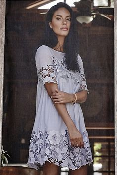 Magnolia Lace Dress #anthropologie  OUT OF STOCK EVERYWHERE I LOVE