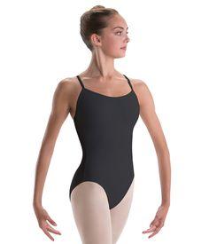 Motionwear Girls Drape Back Cami Leotard L PINK