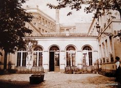 Pensionnat Heger in Brussels, where Charlotte Bronte fell in love with the master, Constantin Heger.