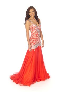 Pageant dress example (Teen or Miss Division)