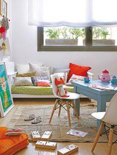 Dormitorios infantiles bonitos y prácticos: Cuartos para jugar...