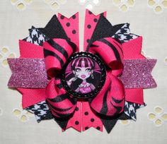 Monster High Draculaura Inspired Boutique Hair by buddhabelly10, $6.50