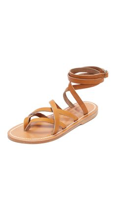 Zenobie Wrap Sandals