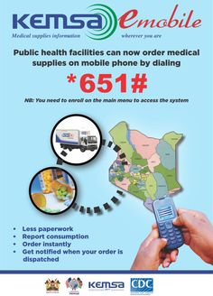 Text the CDC (Kemsa) for medical supplies, no matter where you are! Public Health, Medical, Medicine, Med School, Active Ingredient