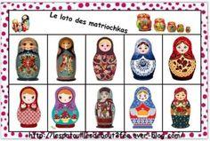 JEU - Loto des matriochkas Europe Street, Europe Europe, Europe Outfits, Baba Yaga, Matryoshka Doll, Travel Aesthetic, Continents, France Travel, Art For Kids
