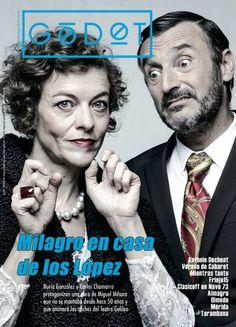 Godot número 55. Especial Verano 2015. Milagro en casa de los López, de Miguel Mihura, en el Teatro Galileo