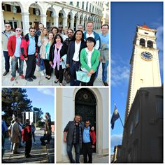 Day 3 of the 2nd Symposium - a guided walk around Corfu old town, a UNESCO World Heritage Centre