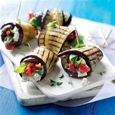 1000 images about vegetarian canapes on pinterest for Vegetarian canape