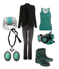 Teal and black, can't go wrong.
