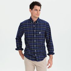 With a name like Sloan, Ferris would be all over this classic fall button down.