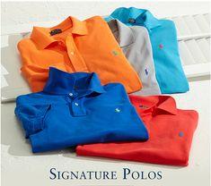 Signature Polos