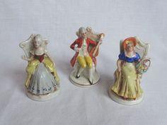 Three Delicate China Figurines