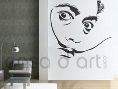 Legends - Salvador Dali - Wall Decals , Home WallArt Decals