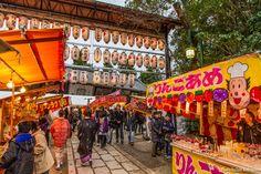 Los puestecillos de los festivales japoneses