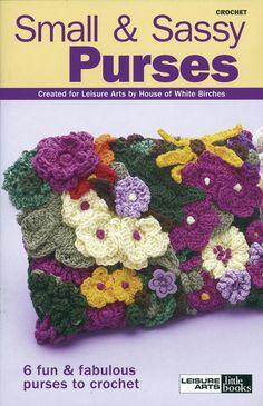 Leisure Arts-Small & Sassy Purses