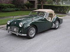 Triumph TR3 in BRG with 2.2 Engine  (1956)