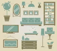 Image result for floor plan furniture vector Floor Plan Symbols, Floor Plans, Flooring, How To Plan, Furniture, Image, Home, Ad Home, Wood Flooring