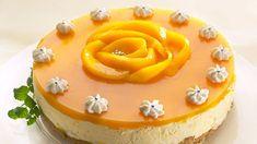 Mangojuustokakku Copyright: Myllyn Paras. Delicious Desserts, Yummy Food, Mango Cheesecake, Baked Potato Recipes, Fusion Food, Sweet Pastries, No Bake Treats, Love Food, Cake Recipes