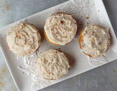 Coconut Flour Eggnog Cupcakes Soft and fluffy paleo eggnog cupcakes with creamy vanilla frosting.