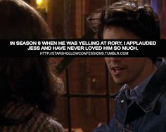 Stars Hollow Confessions.I always loved him , but this was a great moment.