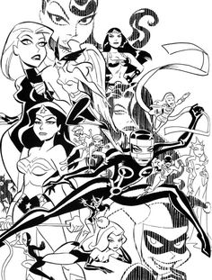 Bruce Timm's Women of the DC Universe