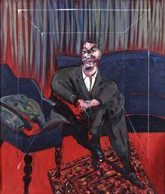 Francis Bacon (Ireland, 1909-1992) - Seated Figure, 1961
